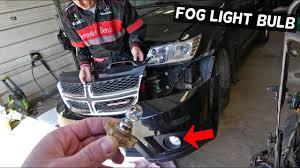 2012 Dodge Durango Fog Light Bulb Replacement How To Replace Fog Light Bulb On Dodge Journey Fiat Freemont