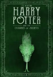 harry potter book 2 green cover