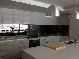 Black Splashback Kitchen Splashbacks Gawler Grants Glass Gawler