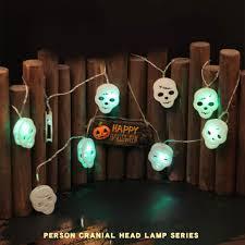 Outdoor Skull Lights Amazon Com Shan S Halloween Skull Bone Head Lights