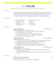 Accounts Payable Clerk Goals And Objectives Job Description Resume ...