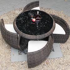 waterproof rattan space saving outdoor