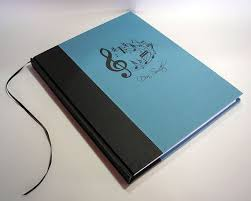 blank sheet music book staff paper notebook musicians gift composers notebook