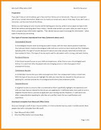 Resume Template Information Technology Templates Word 2013 Free 20