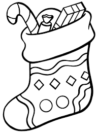 Small Picture Free Coloring Pages Christmas Stocking Dzrleathercom