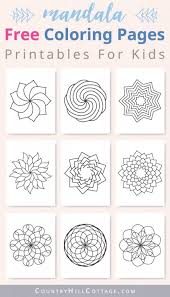 There's many to choose from and our app has a few nice tricks to help you out! Mandala Coloring Pages For Kids 10 Free Printable Worksheets