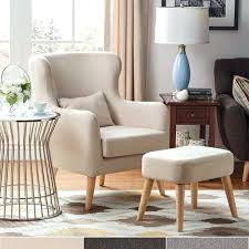 wing chair with ottoman modern contour wing chair and ottoman set inspire q modern strandmon wing chair and ottoman
