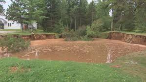 at this point the children s playground and community centre are off limits paul poirier cbc