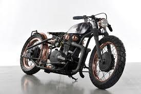 whiskey tango yamaha copper bobber motorcycle