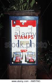 Postage Vending Machines Fascinating Postage Stamp Vending Machine In Sines Alentejo Portugal Stock