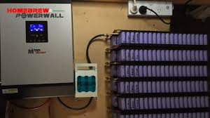 18650 cells being charged via solar using pip2424msx on my diypowerwall
