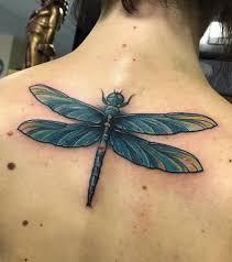 Vážka Dragonfly Dragonflytattoo Bambi Tattooart