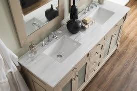 60 inch double sink bathroom vanity sea gull finish arctic fall solid surface