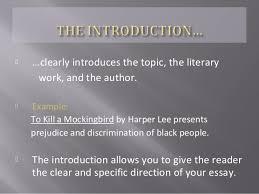 how to write a literary essay 10