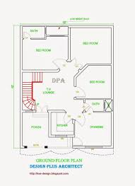 1 5 Marla House Design In Pakistan Home Interior Home Maps Layout Five Marla