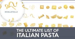 Types Of Pasta Shapes How To Cook Them How To Serve Them