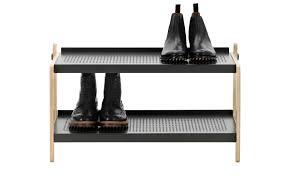 Shoe Rack Sko Shoe Rack In White Industrial Design Shoe Storage