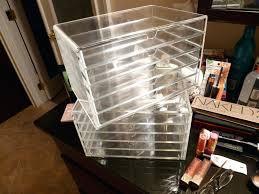 acrylic makeup organizer with drawers whole kardashians storage conner w acrylic makeup organizer drawers uk acrylic makeup organizer