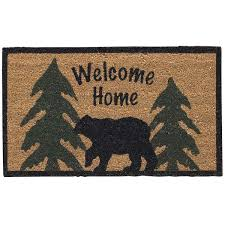 Decorating coir door mats pics : Coir Doormats from IHF make Perfect Entry Mats for Country Home