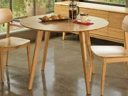 greenington currant caramelized 42 round dining table