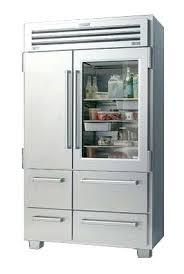 sub zero fridge for home depot canada pro inch glass front refrigerator