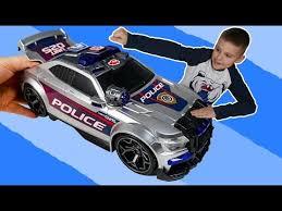 <b>Полицейская машинка Dickie</b> Toys и Игорюша убирают ...