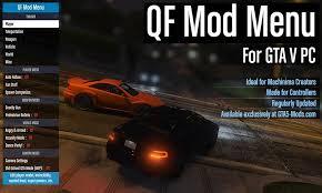 1234how to use gta 5 cheat: Qf Mod Menu Gta5 Mods Com