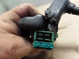 1990 honda cbr1000f hurricane starter relay w battery starer 1990 honda cbr1000f hurricane starter relay w battery starer lead wires