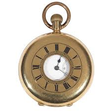 paillard s non magnetic watch co of america gold half hunting case pocket watch c 1890 switzerland from bernardo antichità the uk s premier antiques