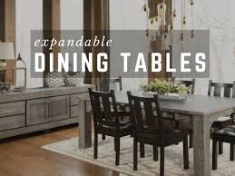 amish extendable dining tables