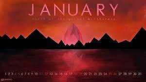 January Wallpaper Calendar 2020 ...