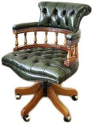 antique office chairs for sale. captains chair in antique green office chairs for sale