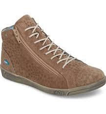 women s cloud aika star perforated high top sneaker tan leather sneakers egpz65 cloud high top onl