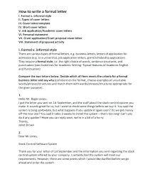 Proper Letter Format Personal Formal Complaint Letter Format Sample Proper Template Formats