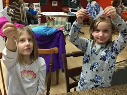 origami girl scouts