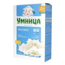 <b>Каша молочная Умница</b> рисовая, с 4 мес., 200 гр. — купить в ...