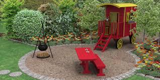 """Résultat de recherche d'images pour """"roulotte de jardin pour enfant"""""""