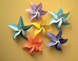 paper flower origami