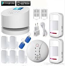 ls111 w2 wifi gsm pstn rfid telephone line burglar security alarm system wifi gsm home alarm 5 door gap sensor 2 motion detector security systems equipment