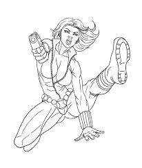 Small Picture Get This Avengers Coloring Pages Black Widow Printable 63189