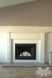 brick fireplace surround cost how to build hearth candle refacing remodel