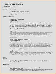 Receptionist Resume Templates Elegant Simple Resume Samples