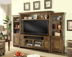 ... Wall Units, Entertainment Wall Unit Wall Mounted Entertainment Center  Solid Wooden Tv Cabinet Living Room ...