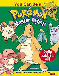 you can be a pokemon master artist how to draw
