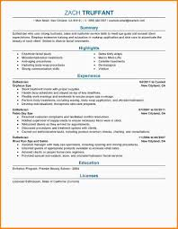 9 esthetician resume nypd resume related for 9 esthetician resume