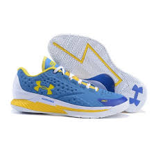under armour shoes blue and yellow. low under armour ua stephen curry one home unisex basketball shoes blue/ yellow blue and