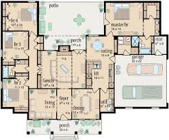 1 story house plans. Main Floor Plan: 18-333 1 Story House Plans