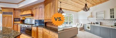 2020 painted vs stained cabinets guide