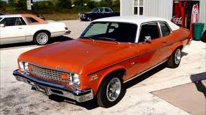1973 Chevy Nova Custom 66,xxx Actual Miles One Owner Car - YouTube