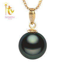 Best value Tahitian Pearl Pendant in <b>Yellow Gold</b> – Great deals on ...